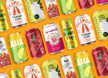 Healthy soda alternatives
