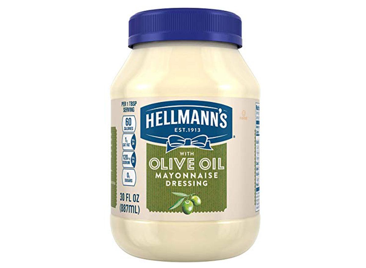 Hellman's olive oil mayo