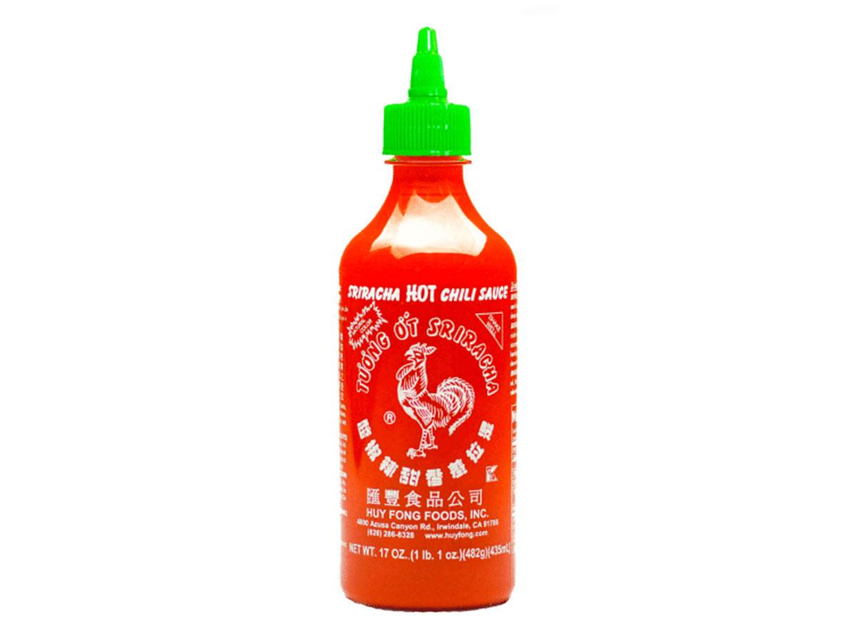 Huy fong foods sriracha hot sauce