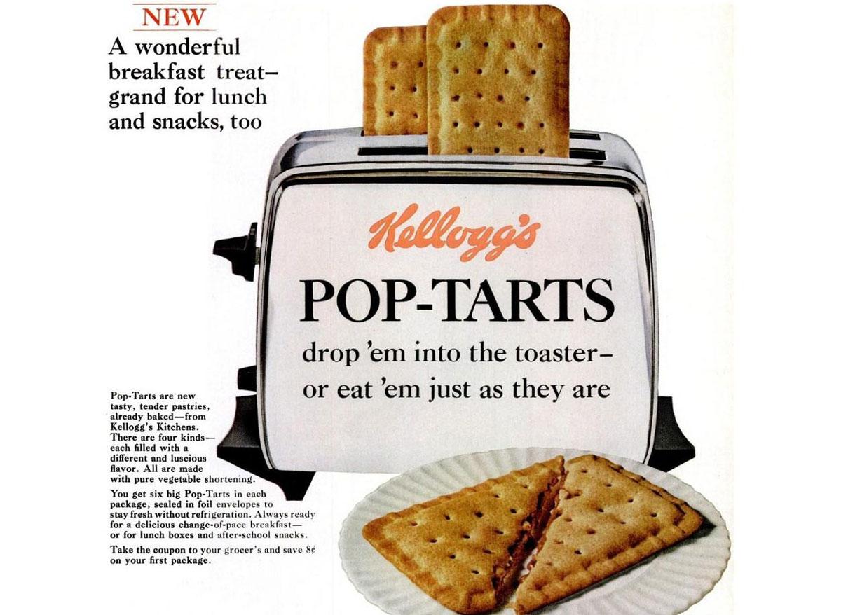 Kelloggs vintage pop tarts ad