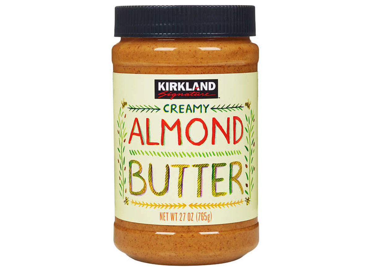 Kirkland creamy almond butter