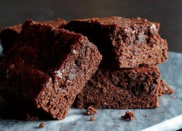 Low-calorie fudgy brownies