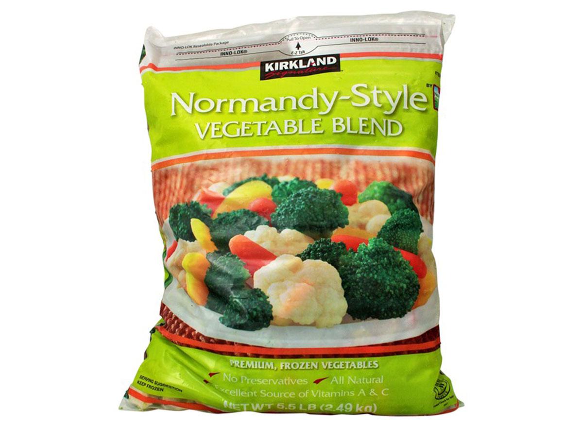 Kirkland normandy style vegetable blend