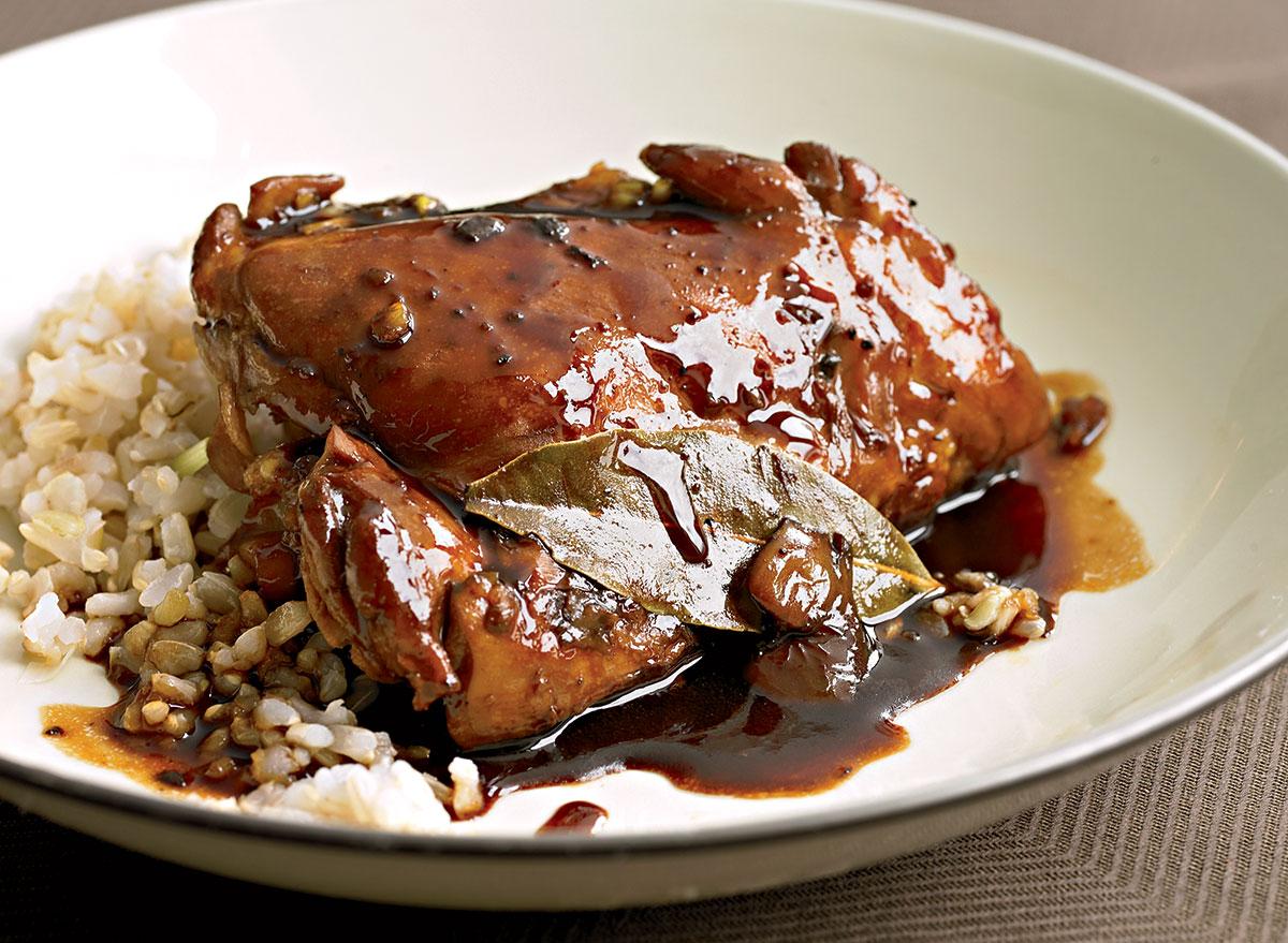 Paleo chicken adobo