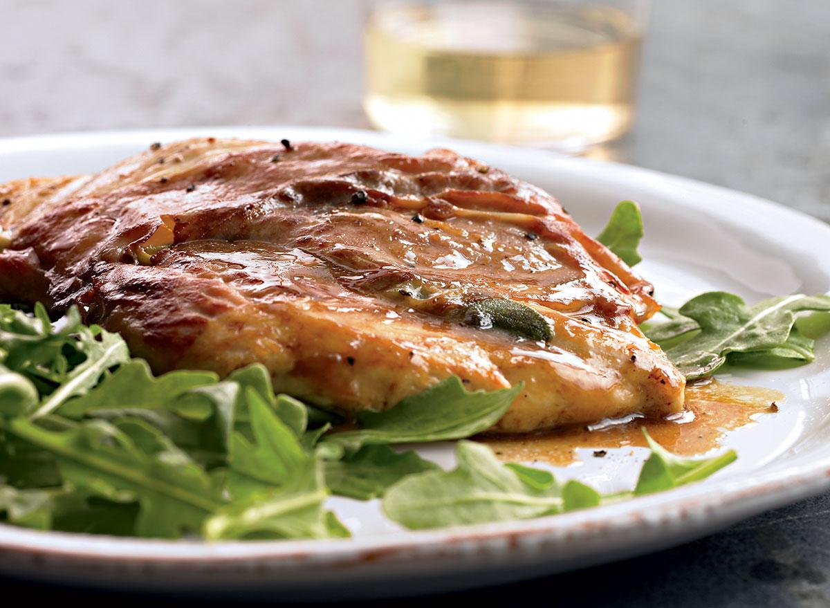 Paleo chicken scaloppine