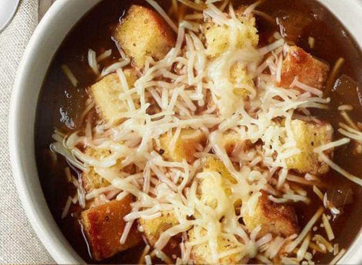 Panera bistro french soup
