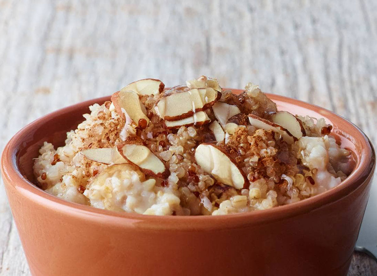 Panera bread power almond quinoa oatmeal