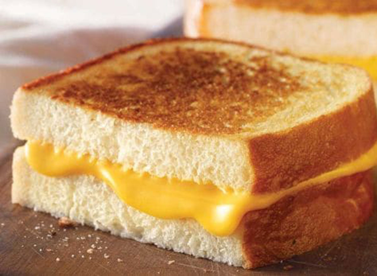 Panera classic grilled cheese on white miche