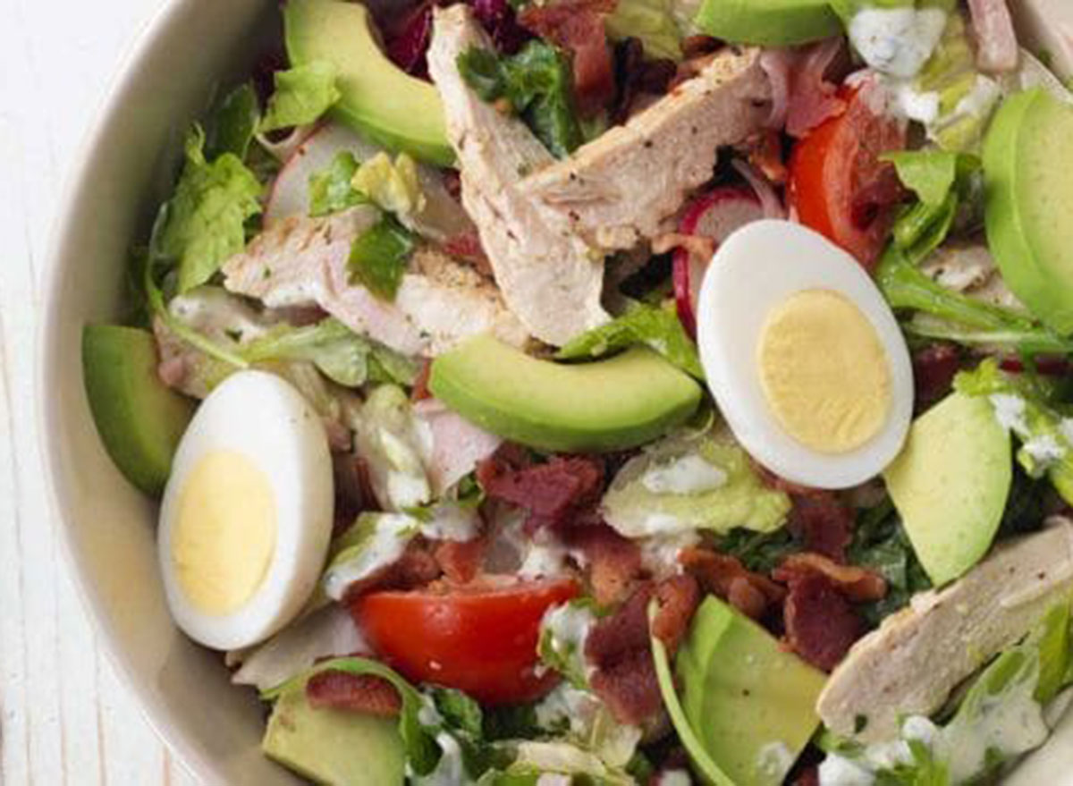 Panera green goddess cobb salad with chicken