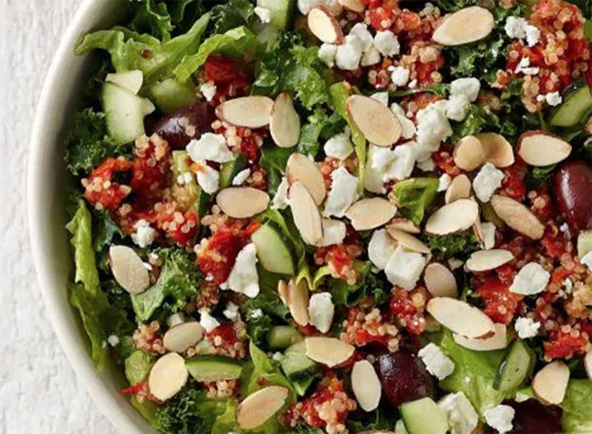 Panera modern greek with quinoa