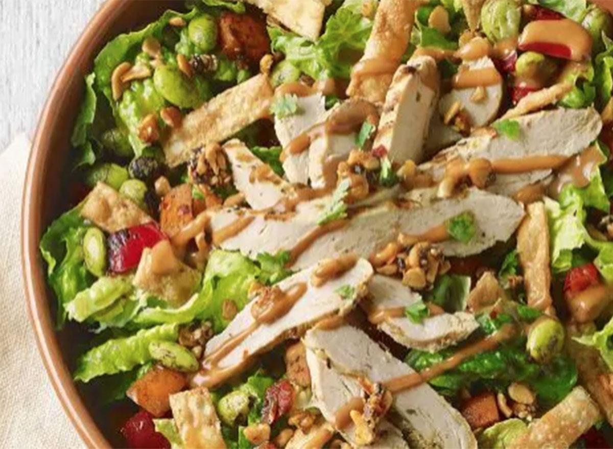 Panera spicy thai salad with chicken