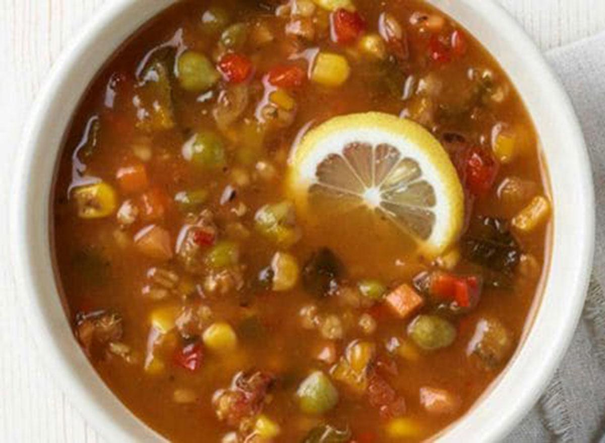 Panera ten vegetable soup