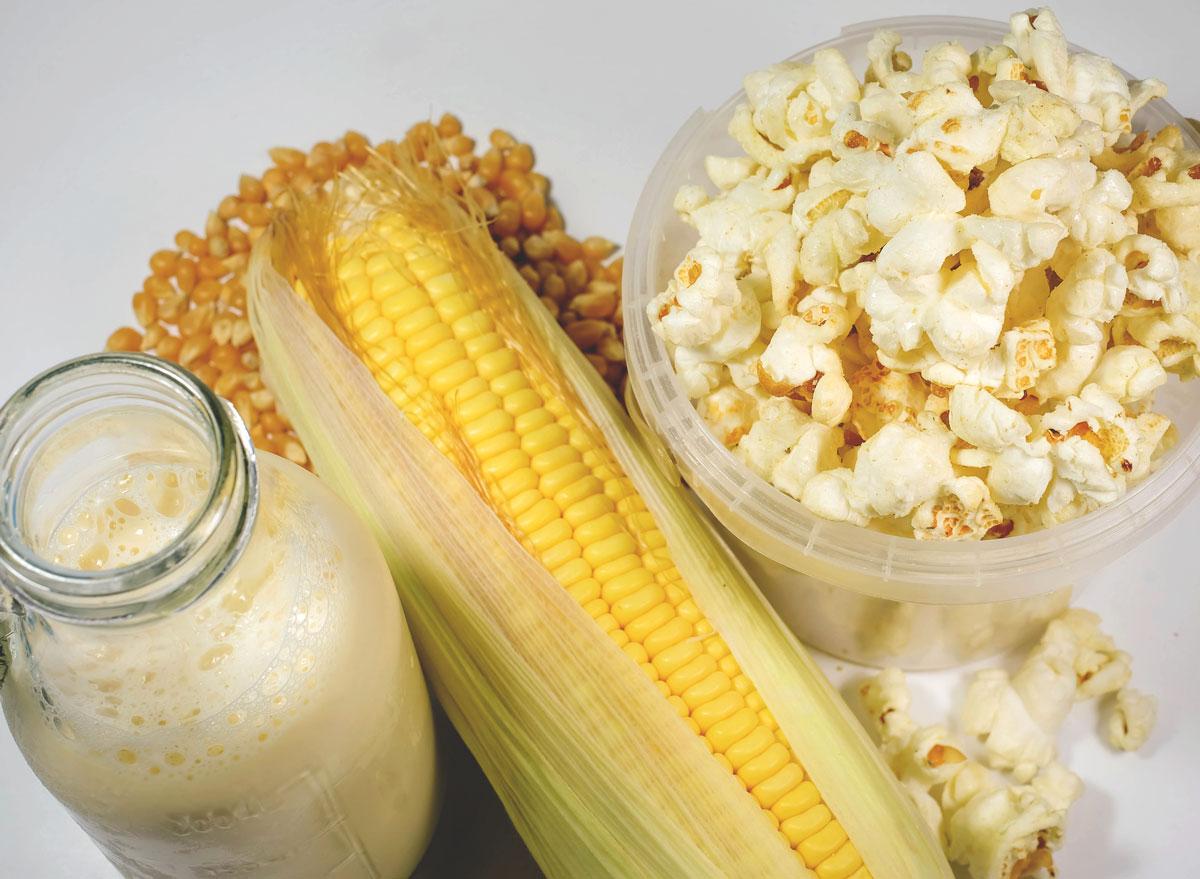 Popcorn cereal milk