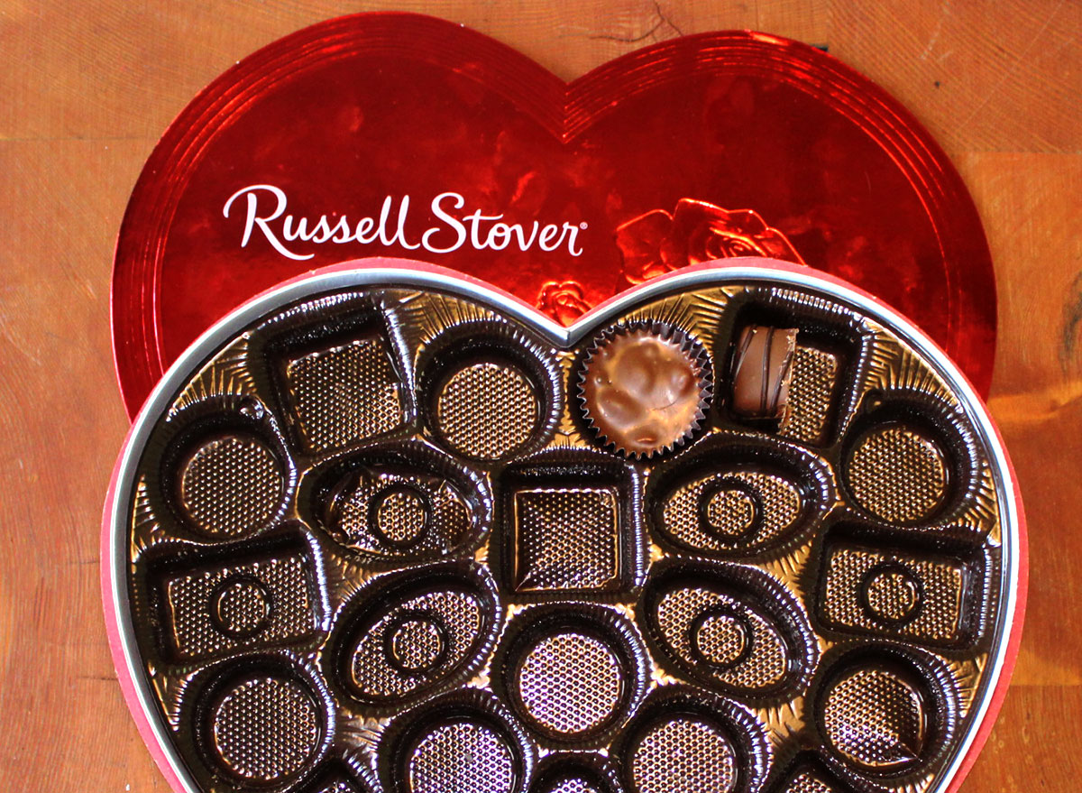 Russell stover's valentine's day chocolates