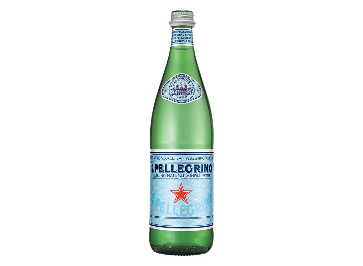 S. pellegrino water