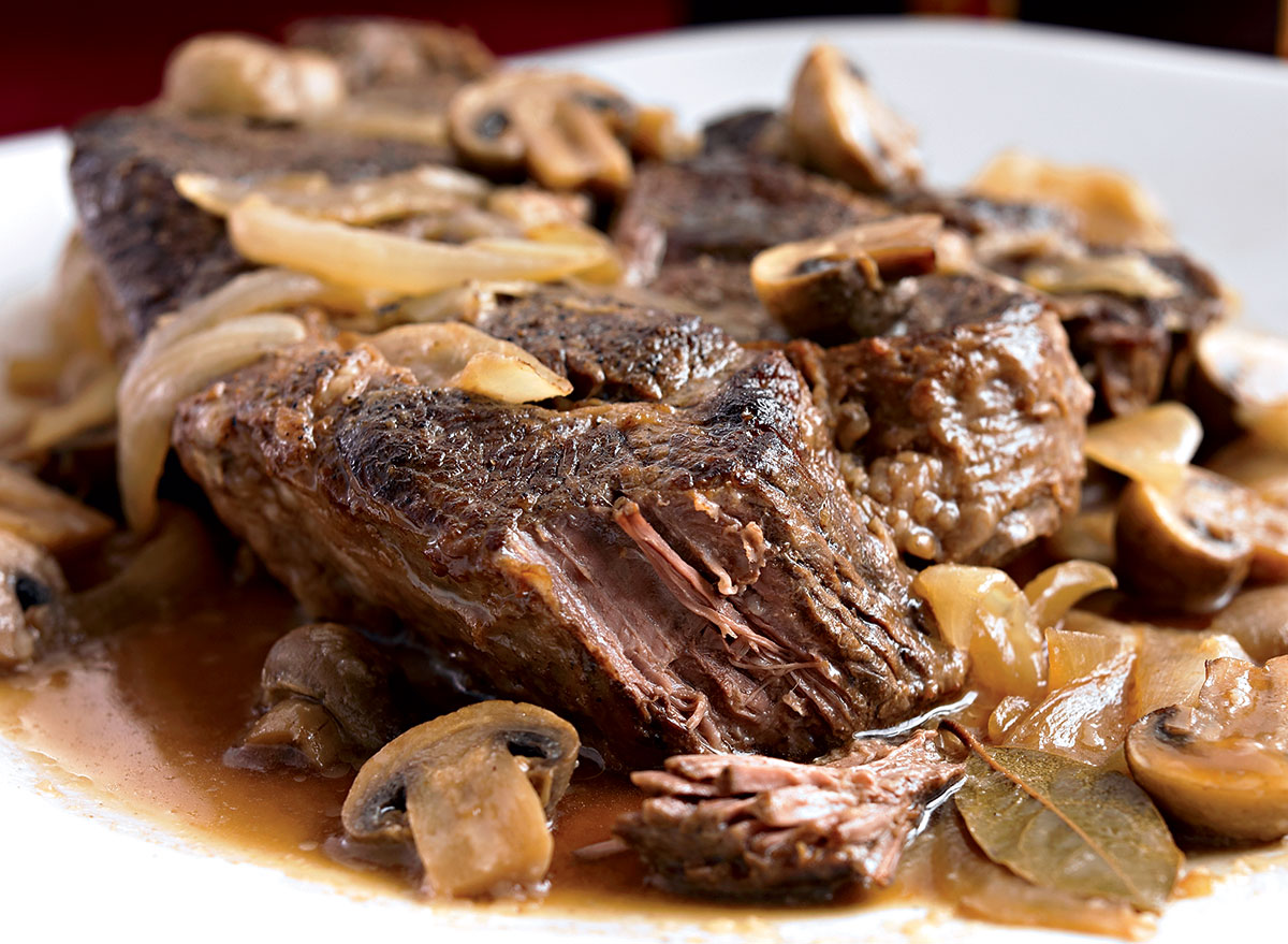 Slow cooker beef and beer