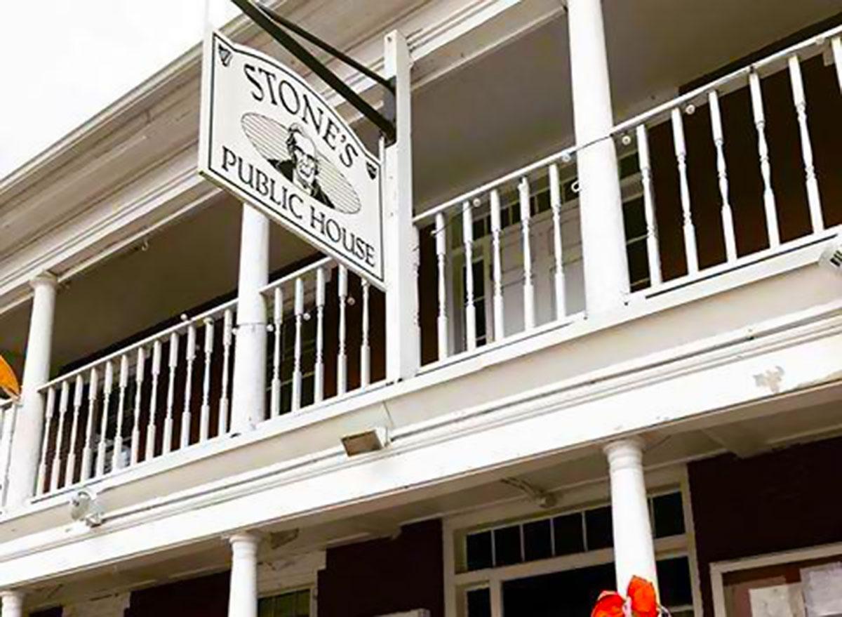 Stone's public house