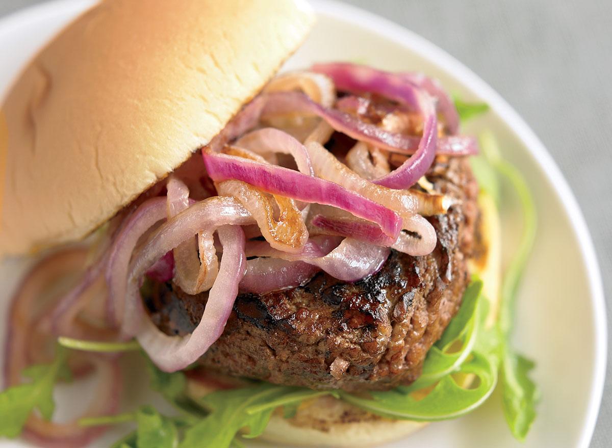 Healthy ultimate burger