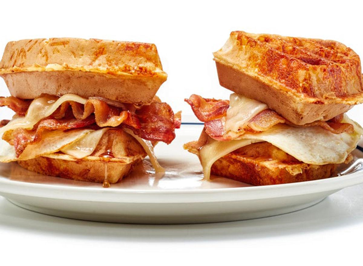 Ultimate waffle sandwich