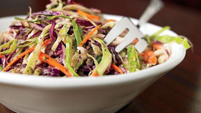 Vegetarian cole slaw
