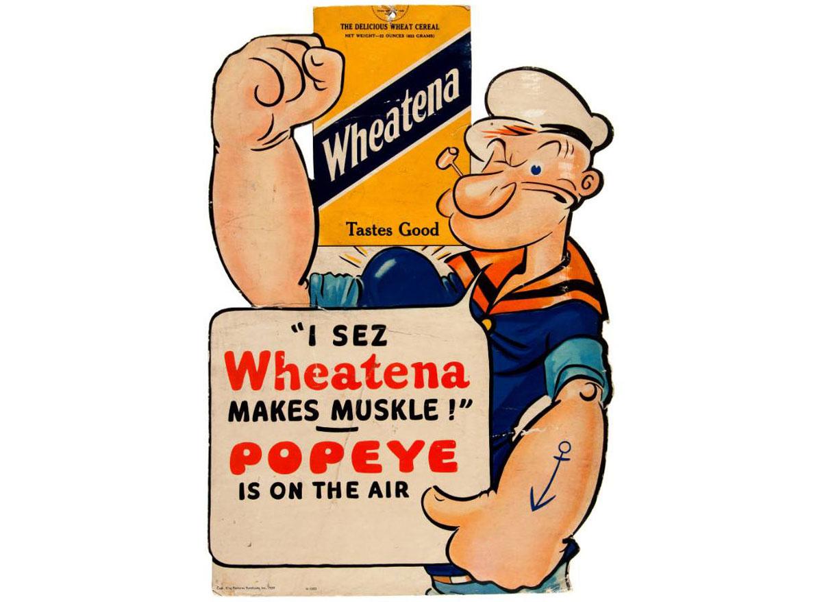Wheatena popeye ad
