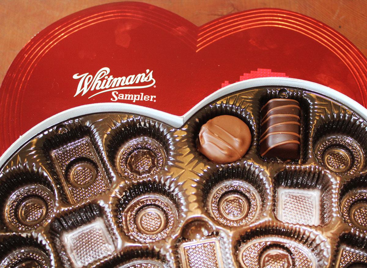 Whitman's samplers: assorted chocolates giant sampler