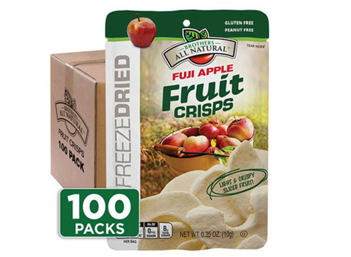 Brothers all natural fuji apple fruit crisps