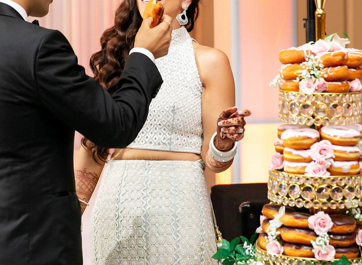 Dunkin donut wedding