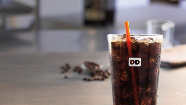 Dunkin' donuts cold brew