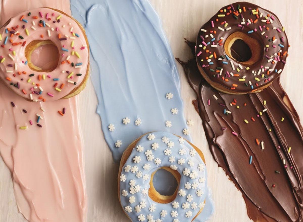 Dunkin' donuts natural colors