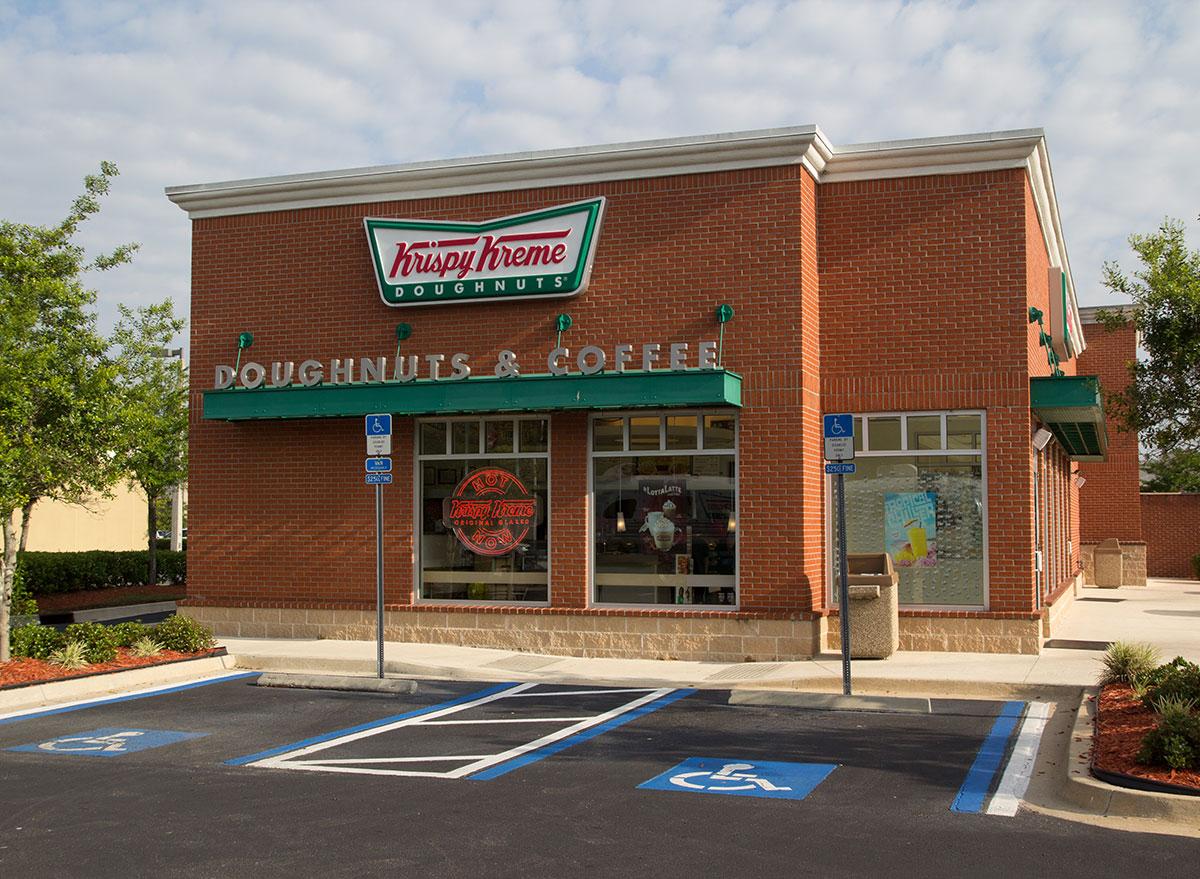 Krispy kreme doughnuts & coffee