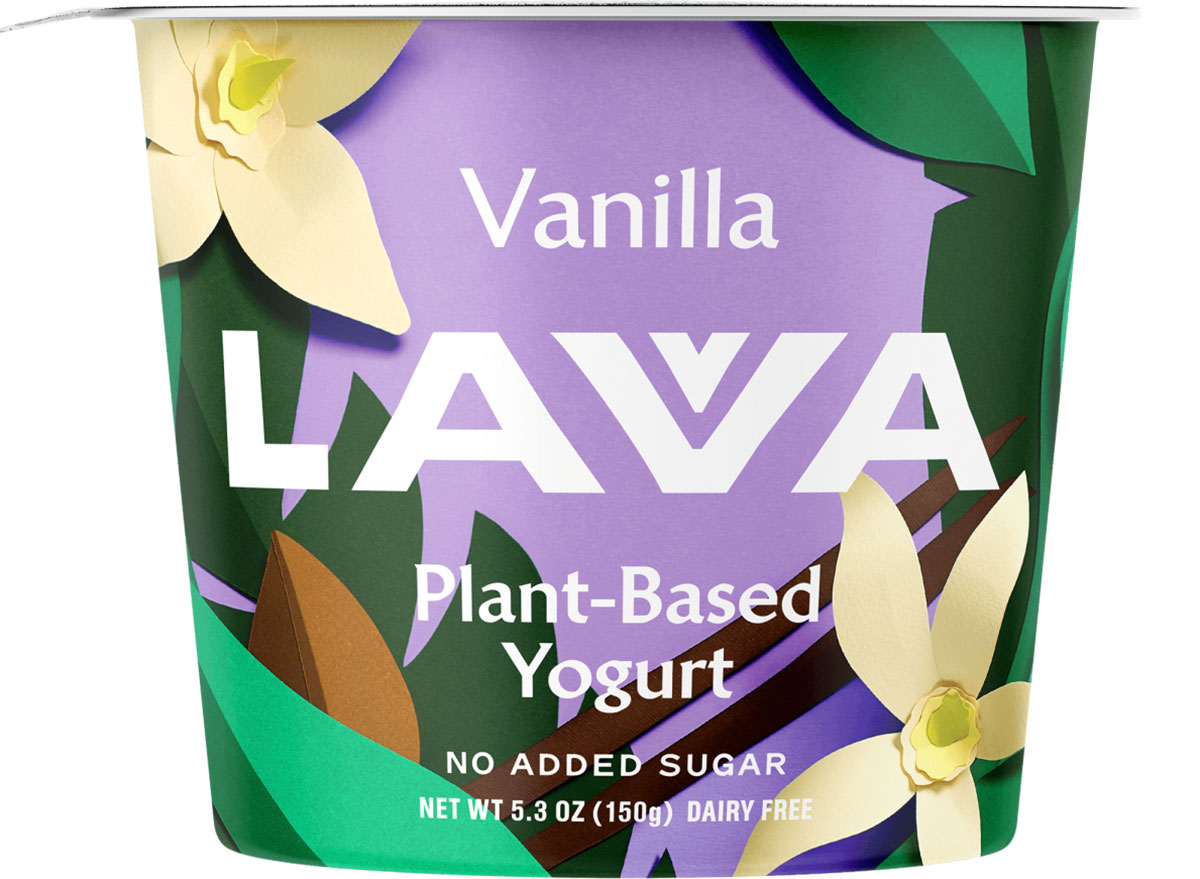 Lava plant based yogurt