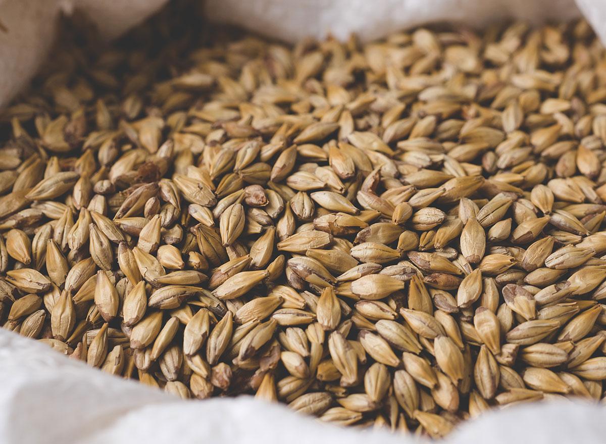 Minimally processed grains