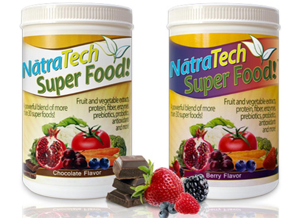Natratech super food protein powder