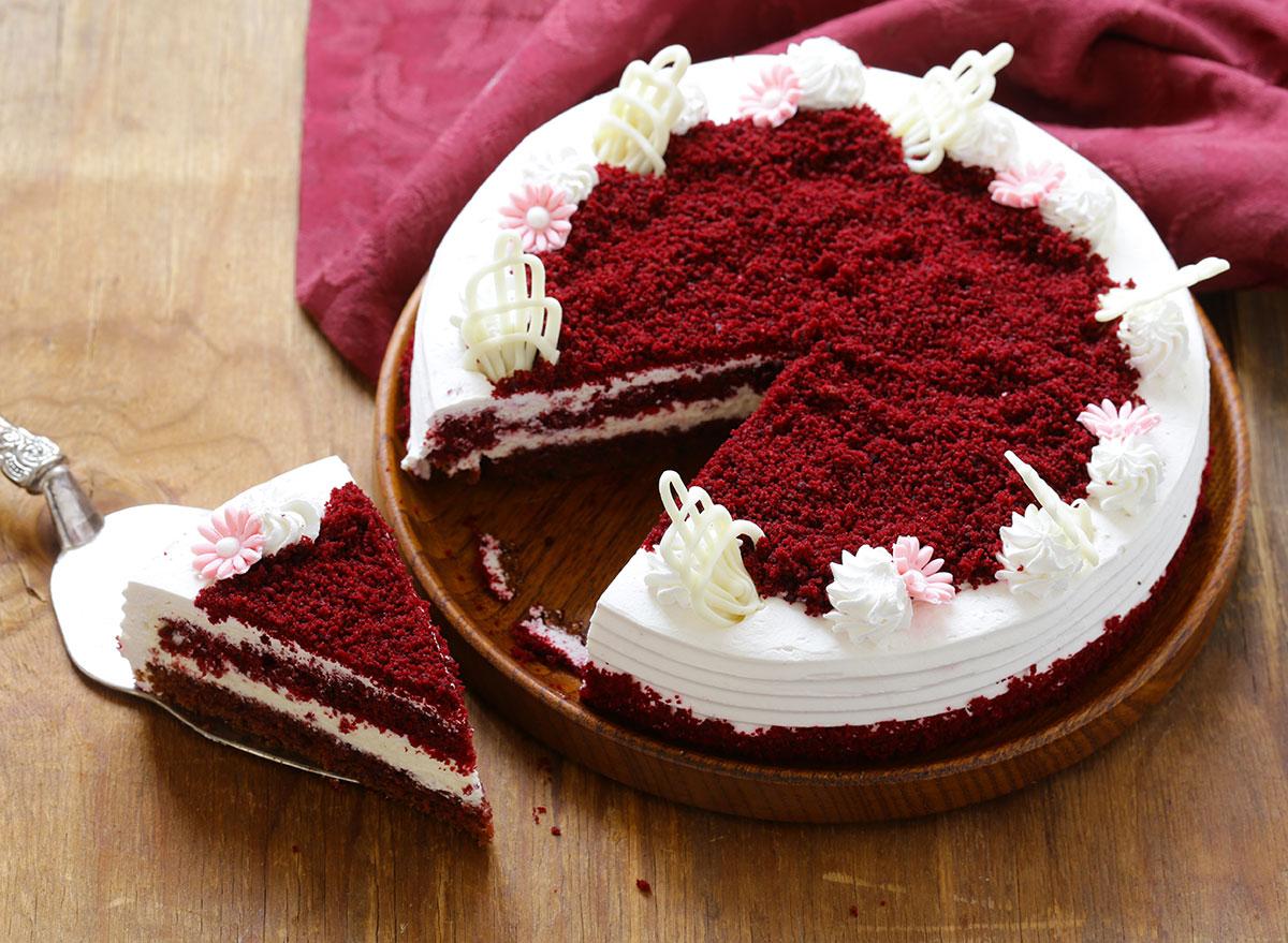Old fashion red velvet cake