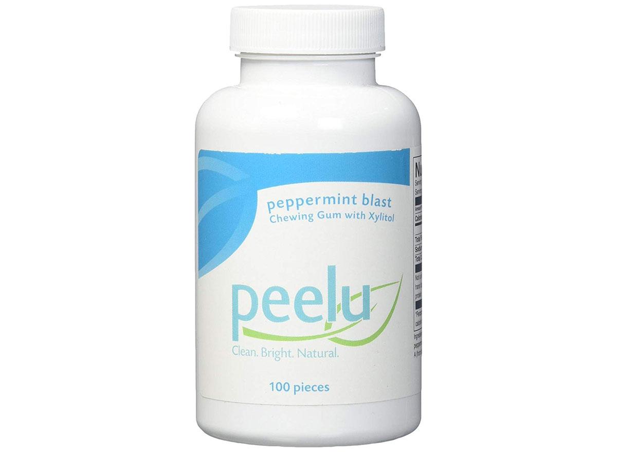 Peelu peppermint blast gum pack
