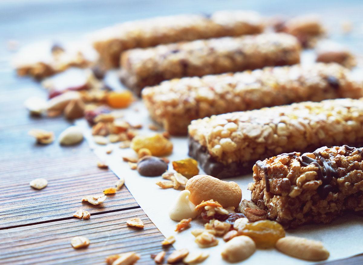Protein nut bar