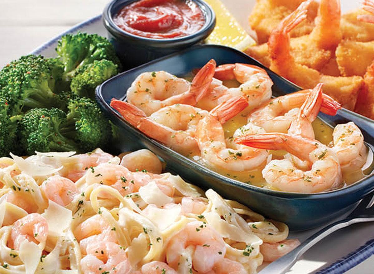 Seaside shrimp trip