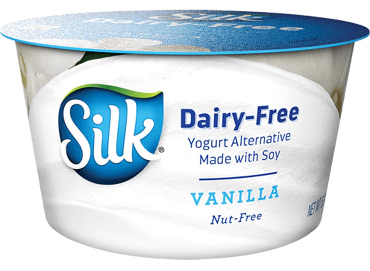 Silk diary free yogurt