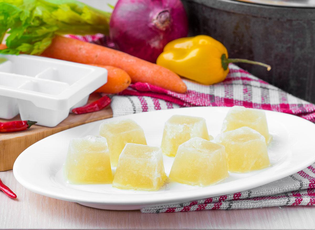 Soup ice cubes