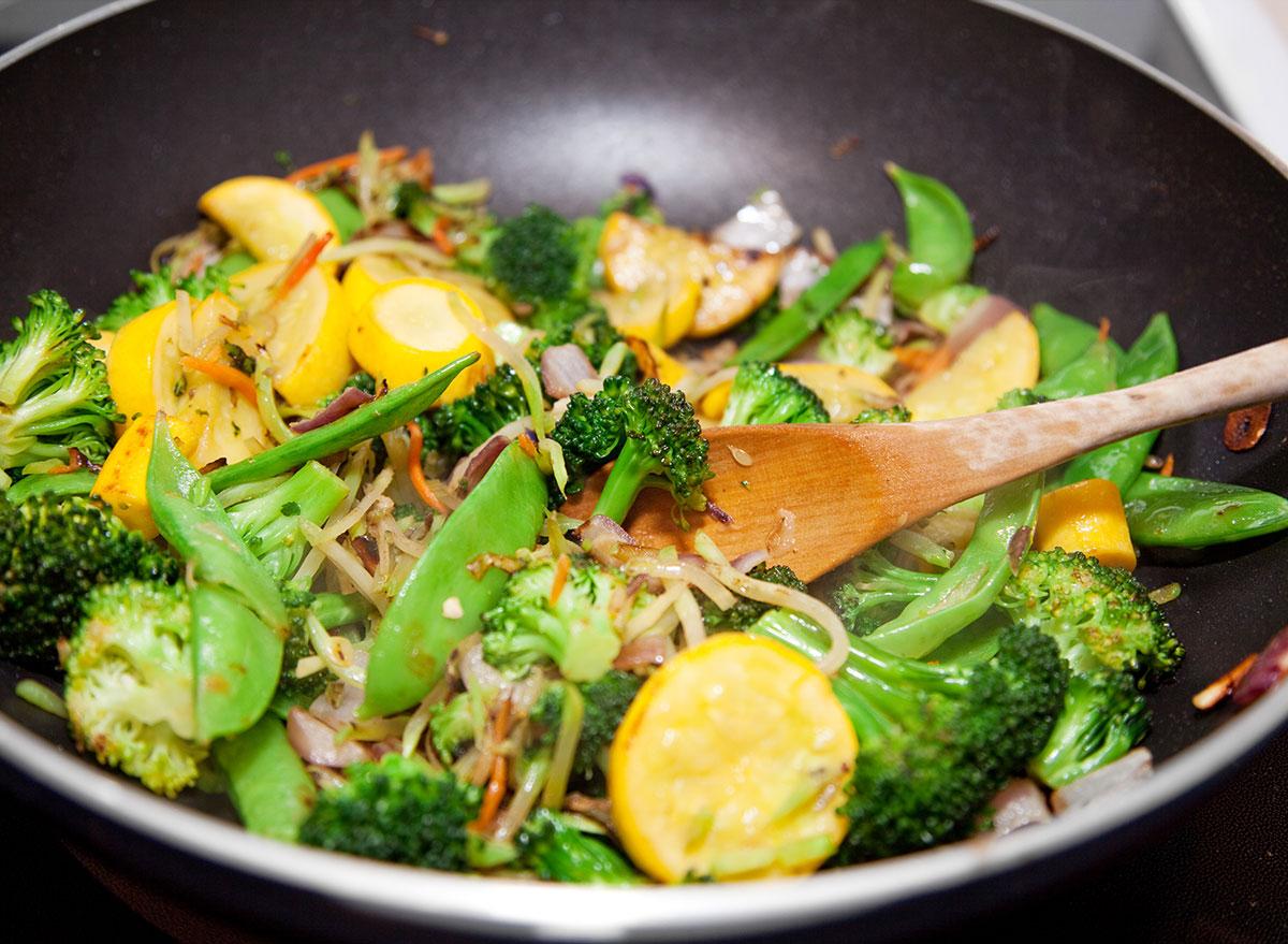 Veggie stir fry