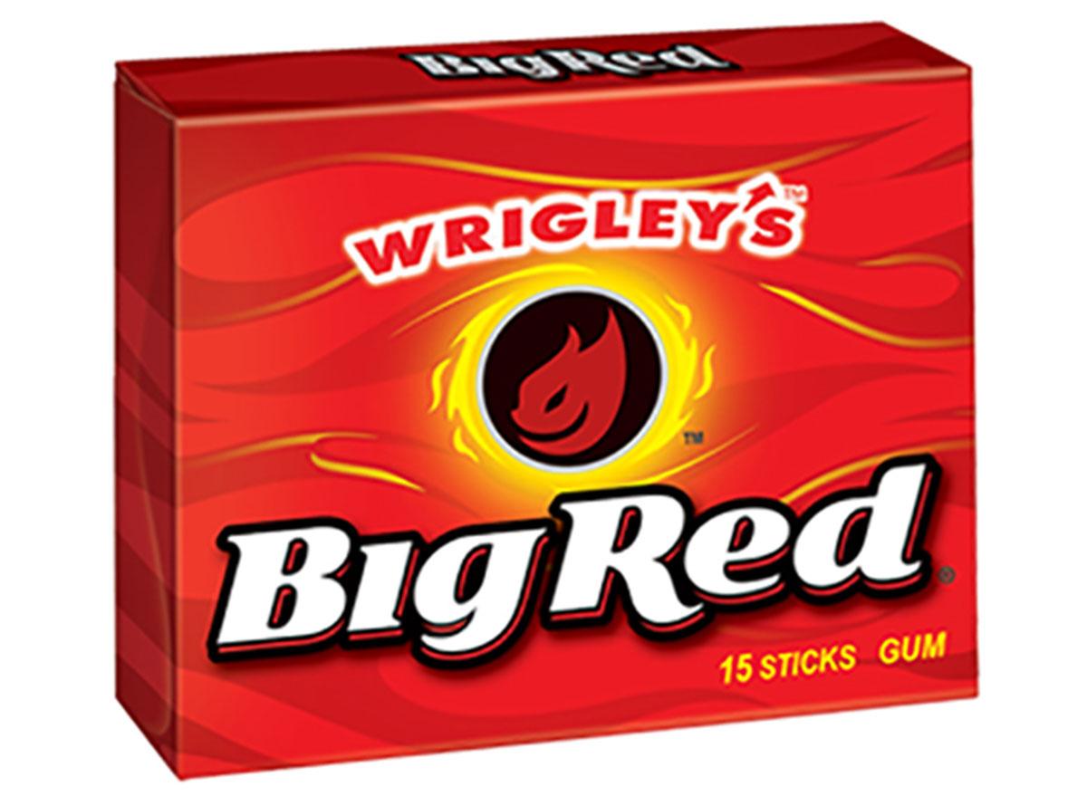 Wrigley's big red gum pack