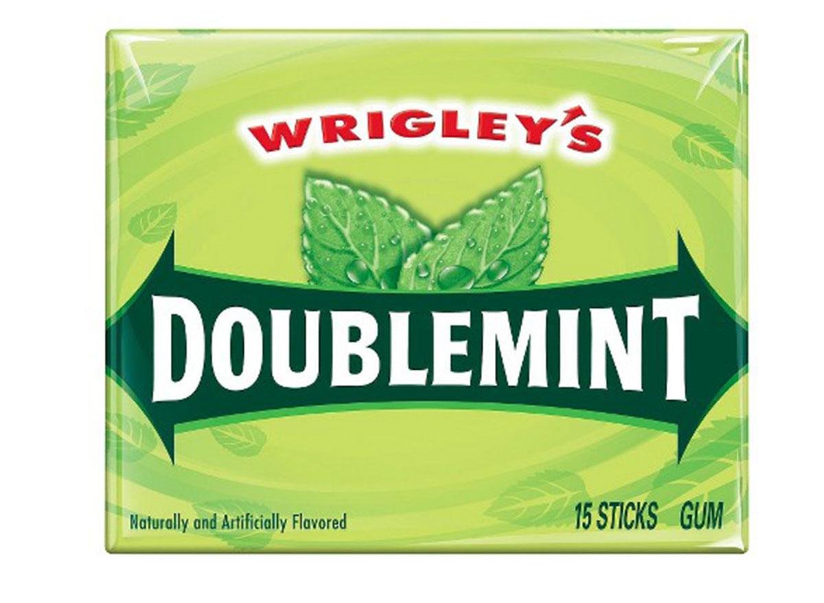 Wrigley's doublemint gum pack