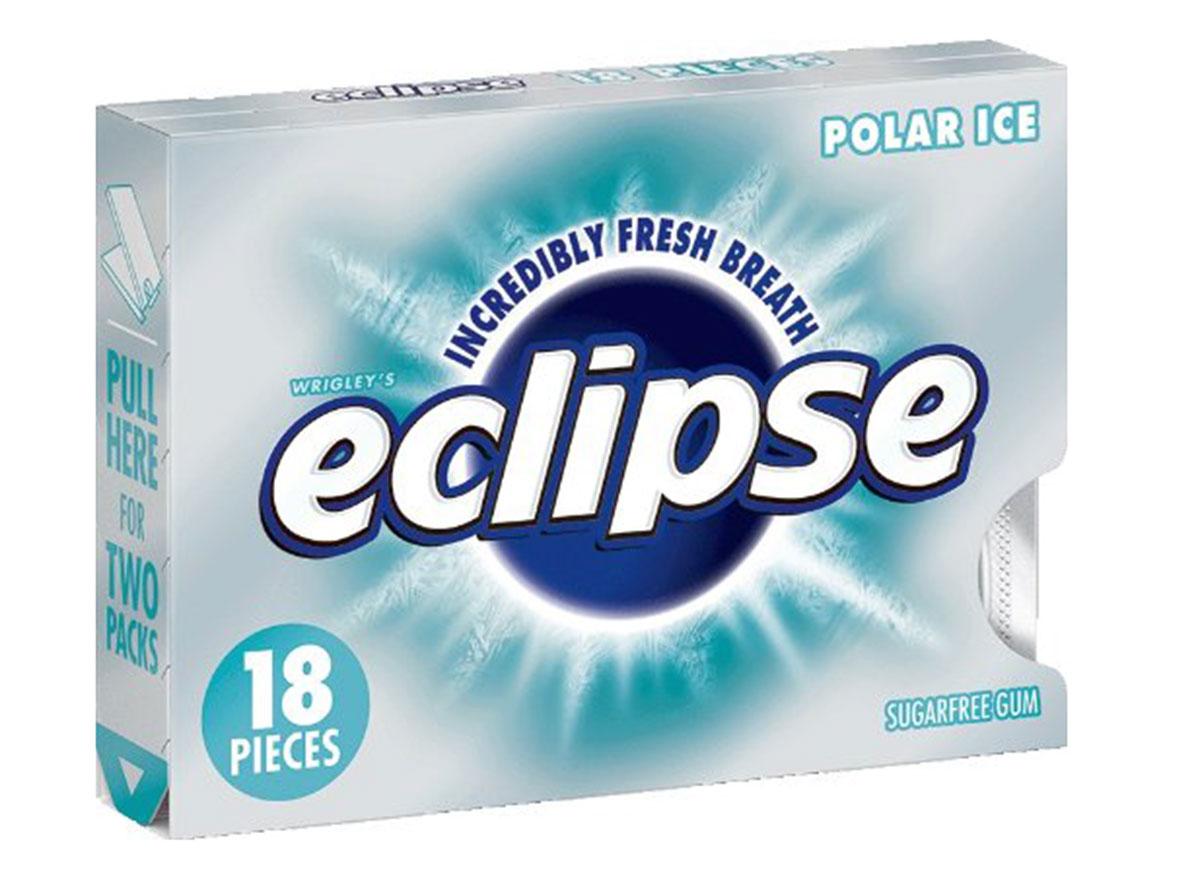 Wrigley's eclipse polar ice gum pack