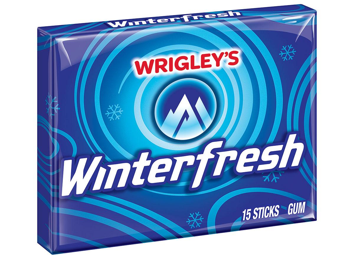 Wrigley's winterfresh gum pack