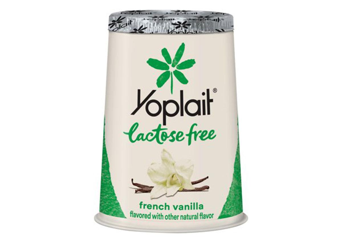 Yoplait lactose free yogurt
