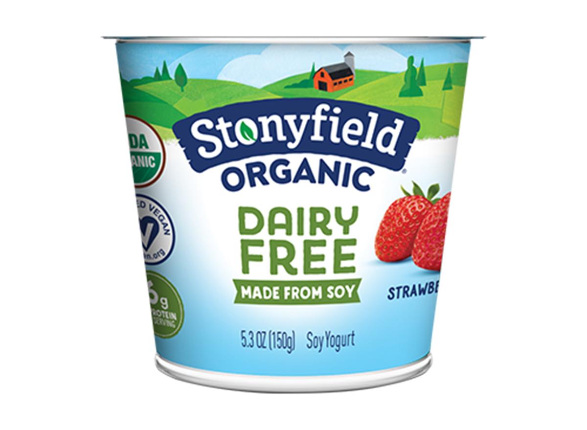 Stonyfield strawberry dairy free yogurt