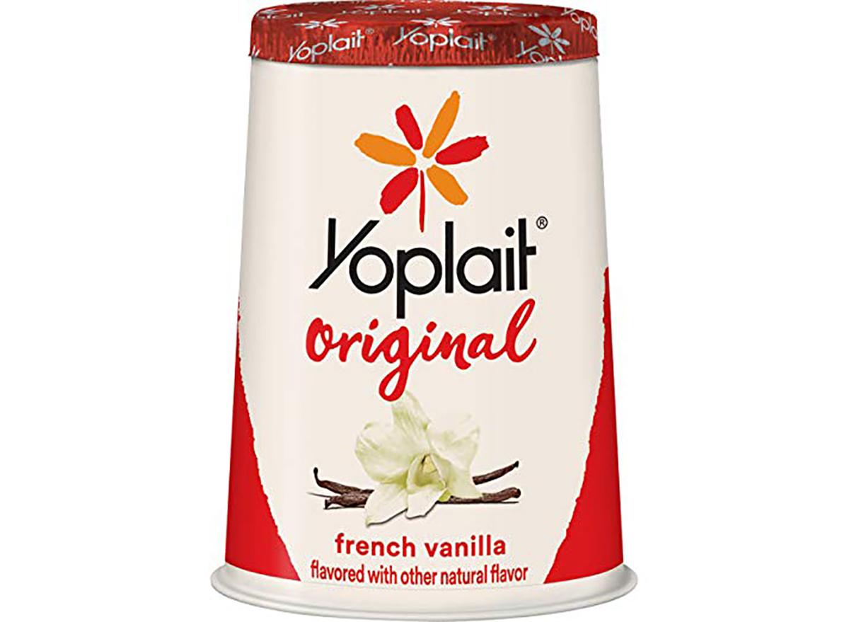 Yoplait French Vanilla Yogurt cup