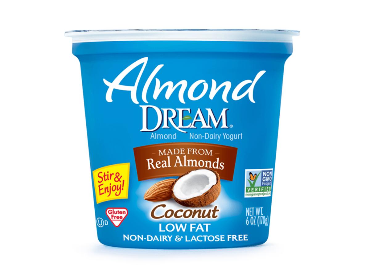 almond dream coconut flavored yogurt