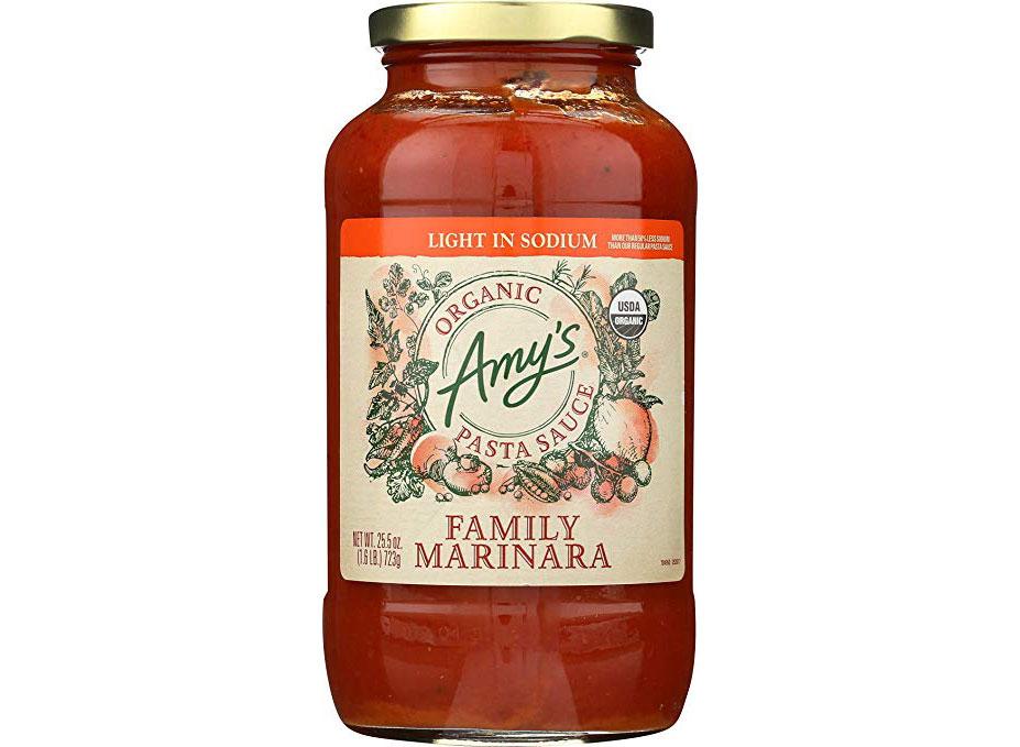 amys light in sodium family marinara